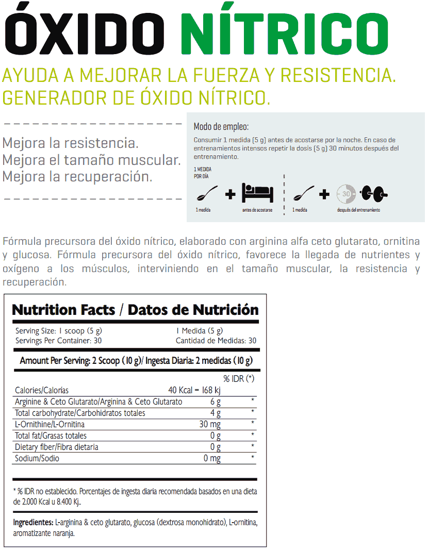 Óxido Nítrico de ENA Sport