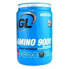 Amino 9000 de Gentech Masticable