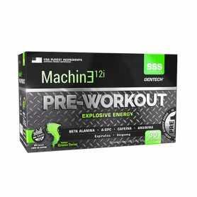Machine 12i PRE-WORKOUT - Pre Entreno de Gentech