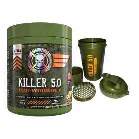 Vaso + Killer 5.0 de Generation Fit