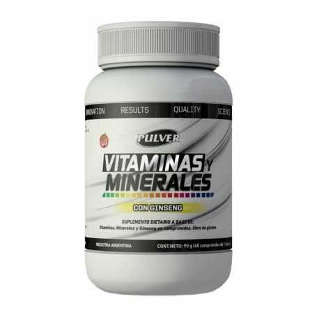 Vitaminas y Minerales de Pulver x60 tabletas