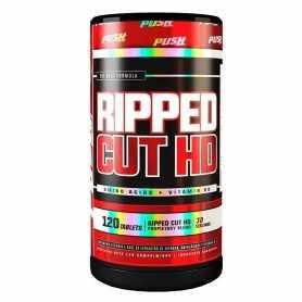 Ripped Cut HD de 90 comprimidos Push - Quemador de grasas