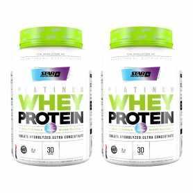 (2 unidades) Premium o Platinum Whey Protein 2 Lbs Star Nutrition