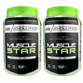 (2 unidades) Musclestar de 1 kg Star Nutrition Todo en Uno