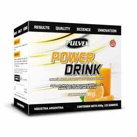 Power Drink de Pulver x10 sobres Bebida Isotónica Recuperadora