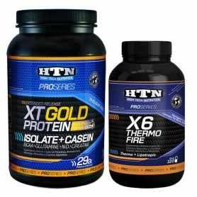 Thermo Fire X6 de HTN + Xt Gold 1 kg de la misma marca
