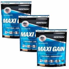 (3 unidades) Maxi Gain 1.25 kg de Gentech