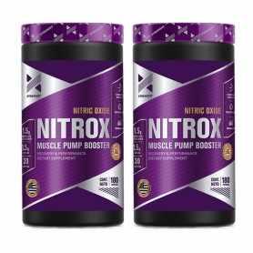 2 Óxido Nítrico Nitrox de Xtrenght Nutrition x 180 caps
