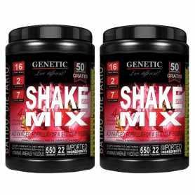 (2 unidades) Shake Mix de Genetic x550 grs Remplazo de Comida