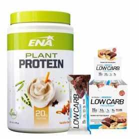 Plant Protein Ena 375 grs + Low Carb de Gentech