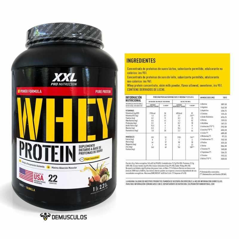 Proteína Animal Whey 10 Libras