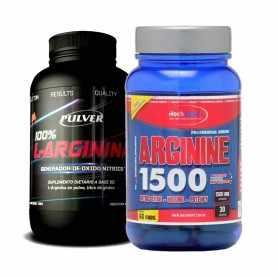 Arginina 1500 de Hoch Sport + Arginina 150 grs de Pulver