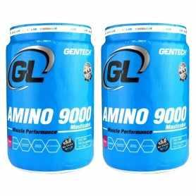 (2 unidades) Amino 9000 de Gentech Masticable