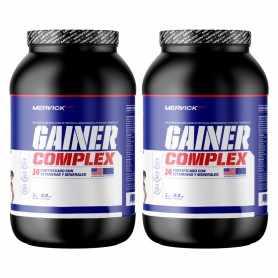 (2 unidades) Whey Gainer Complex 1.5 kg de Mervick