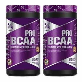 2 unidades de Amino Bcaa Pro de Xtrenght Nutrition x100 cápsulas