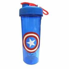 Vaso Shakers Bpa Free no tóxico con Logo Capitán América