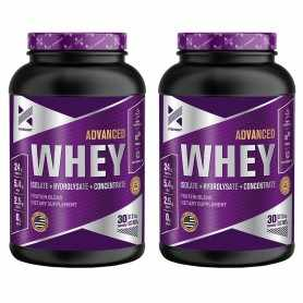 (2 unidades) Advanced Whey Protein de 2 Lbs Xtrenght