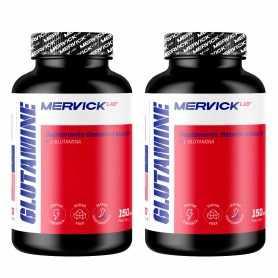 (2 unidades) Glutamina Mervick 150 grs