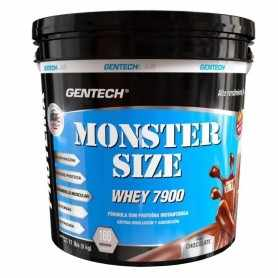 Proteína Monster Size de 5 kg. Fabricada por Gentech.
