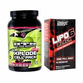 Cell Pack 1.4 kg HTN + Lipo 6 Black