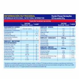 Glucosa + Proteína + Complejo B12