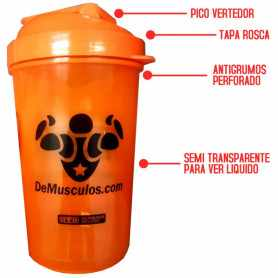 Shaker de Optimun Nutrition a rosca