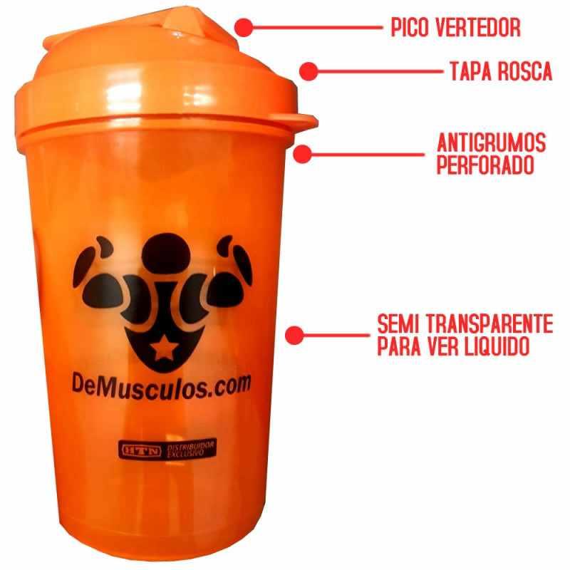 Shaker de Optimun Nutrition a rosca