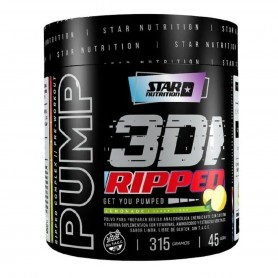 Pump 3D Ripped Citrus Pre Work + Quemador 315 gramos