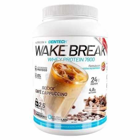 Proteína Cappuccino 1.3 kilos Wake Break de Gentech