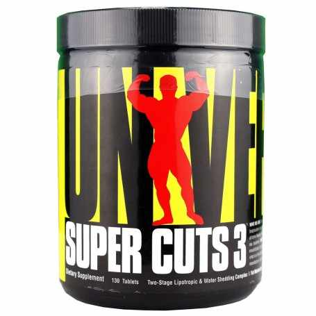 Quemador de grasa Super Cuts 3 de Universal Nutrition