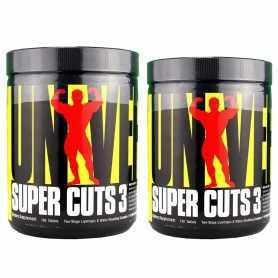 2 Quemadores de grasa Super Cuts 3 de Universal Nutrition