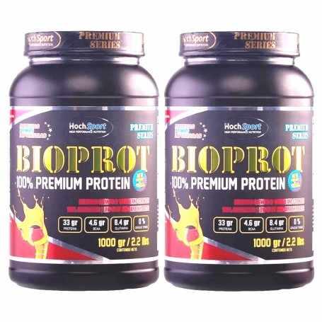 2 Proteínas Bio Prot 1 kg c/u de Hoch Sport