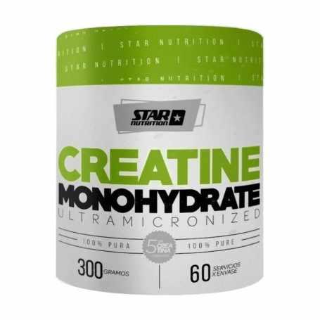 Creatina 300 grs Star Nutrition 100% micronizada y de monohidrato