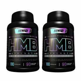 2 HMB de 180 cápsulas de Star Nutrition