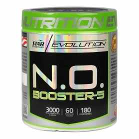 N.O. Booster-5 de Star Nutrition x 180 tabletas
