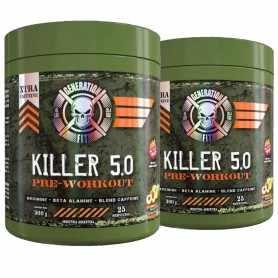 ( 2 unidades) Killer 5.0 de Generation Fit (Pre Work) Energía Pura