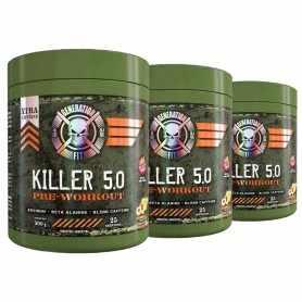 ( 3 unidades) Pre Workout Killer 5.0 de Generation Fit
