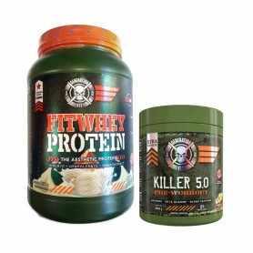 Proteína Fitwhey 2 lbs + Pre Work Killer 5.0