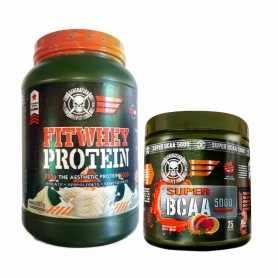 Proteína Fitwhey 2 lbs + Super BCAA 5000