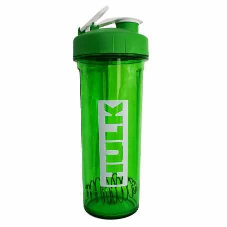 Vaso Shakers Bpa Free no tóxico con Logo Hulk