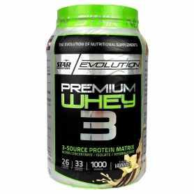 Premium Whey 3 de Star Nutrition