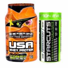 Usa Whey Protein + Quemador de Grasas Starcuts