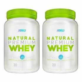2 Natural Whey 2 Lbs c/u Star Nutrition Stevia
