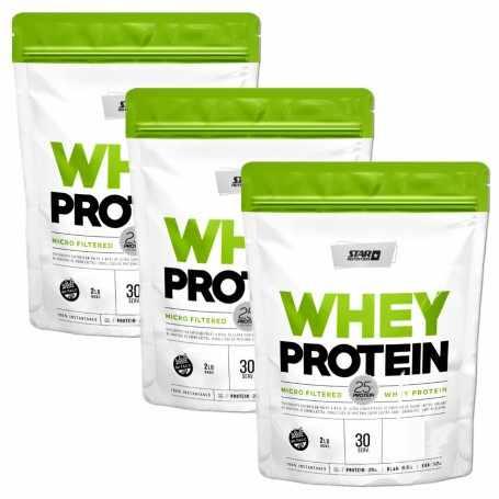 3 Whey Protein de Star Nutrition x2 Lbs