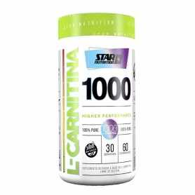 Carnitina x60 de Star Nutrition Quemador de grasas