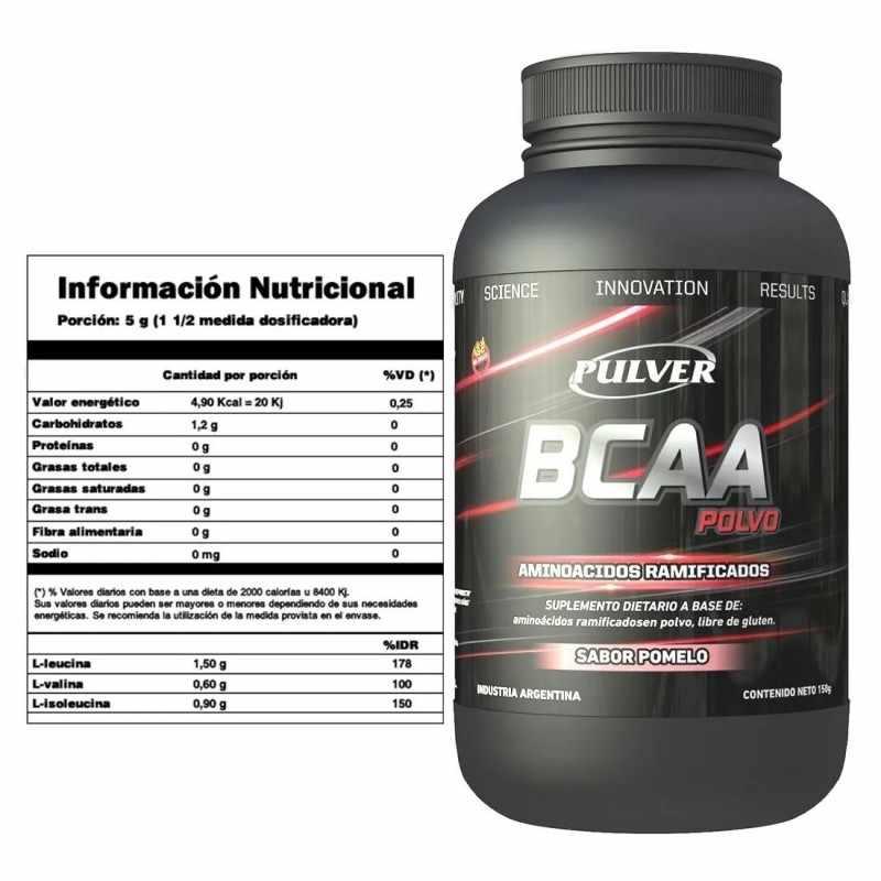 BCAA de Pulver por 120 tabletas