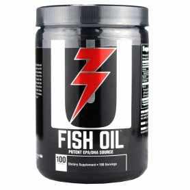 Aceite de Pescado Fish Oil Universal Nutrition 100 Softgels