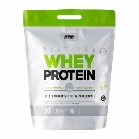 Proteína Premium o Platinum Whey Protein 3 kg Star Nutrition