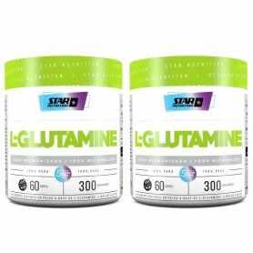 2 Glutamina Micronizada Pura 300 grs Star Nutrition