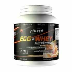 Proteína Mixta Egg & Whey Pulver x2 kg (Huevo y Leche)